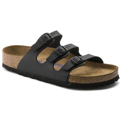 FLORIDA  BIRKO-FLOR BLACK SOFT FOOTBED Regular