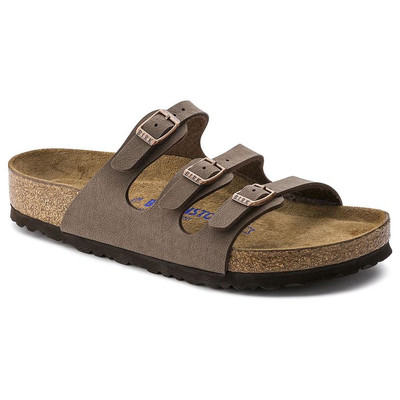 FLORIDA SOFT FOOTBED BIRKIBUC MOCHA Regular