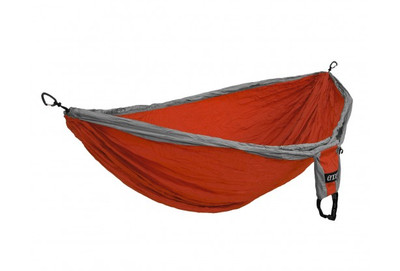 DOUBLE DELUXE HAMMOCK, ORANGE/GRAY