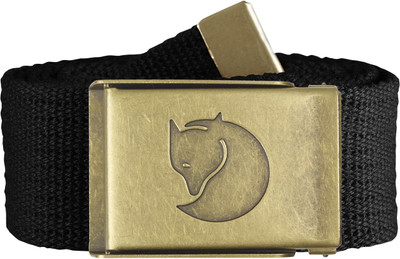 Canvas Brass Belt 4 cm. / Canvas Brass Belt 4 cm. Black 1 Size