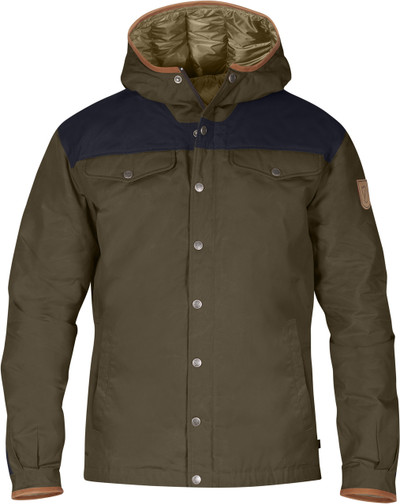 Greenland No.1 Down Jacket Khaki-Night Sky