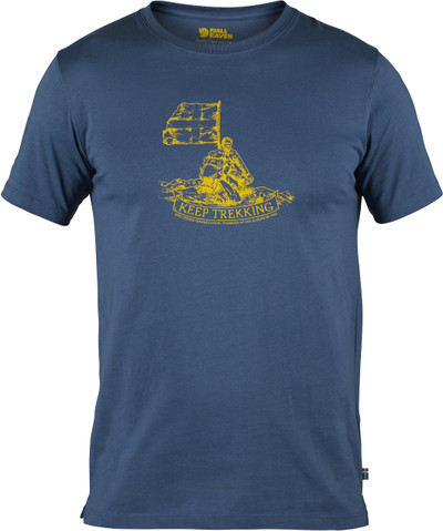 KEEP TREKKING T-SHIRT UNCLE BLUE L