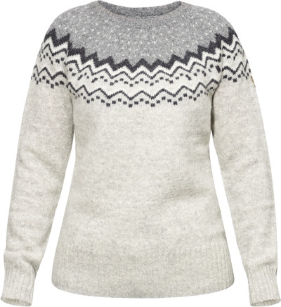 Ovik Knit Sweater W Grey