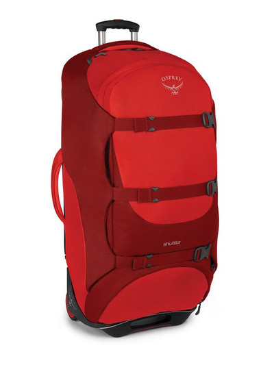 "Shuttle 36""/130L  Diablo Red O/S"