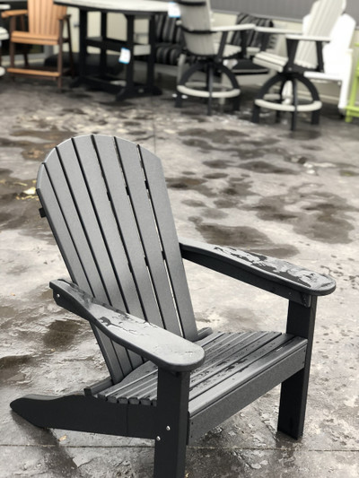 Adirondack Chair Black