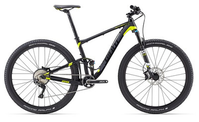 ANTHEM X 29ER M MATTE BLACK/CHARCOAL/YELLOW