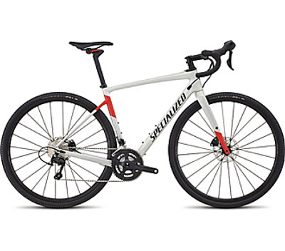 Men's Diverge Comp Gloss Dirty White/Rocket Red/Tarmac Black 56