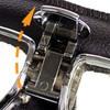 Nannini patented quick release design
