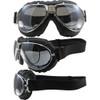 TT 4V Chrome Frame Black Leather Silver Mirror Lenses & RX Adaptor