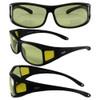 Black Frame Yellow Lenses