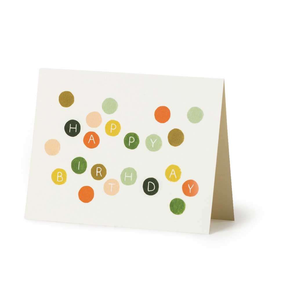 Dots Birthday Card