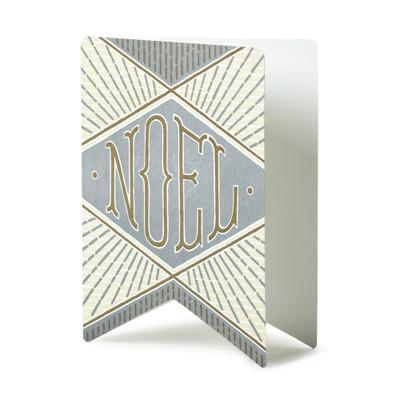 Noel Letterpress Card