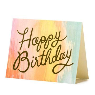 Sorbet Birthday Card