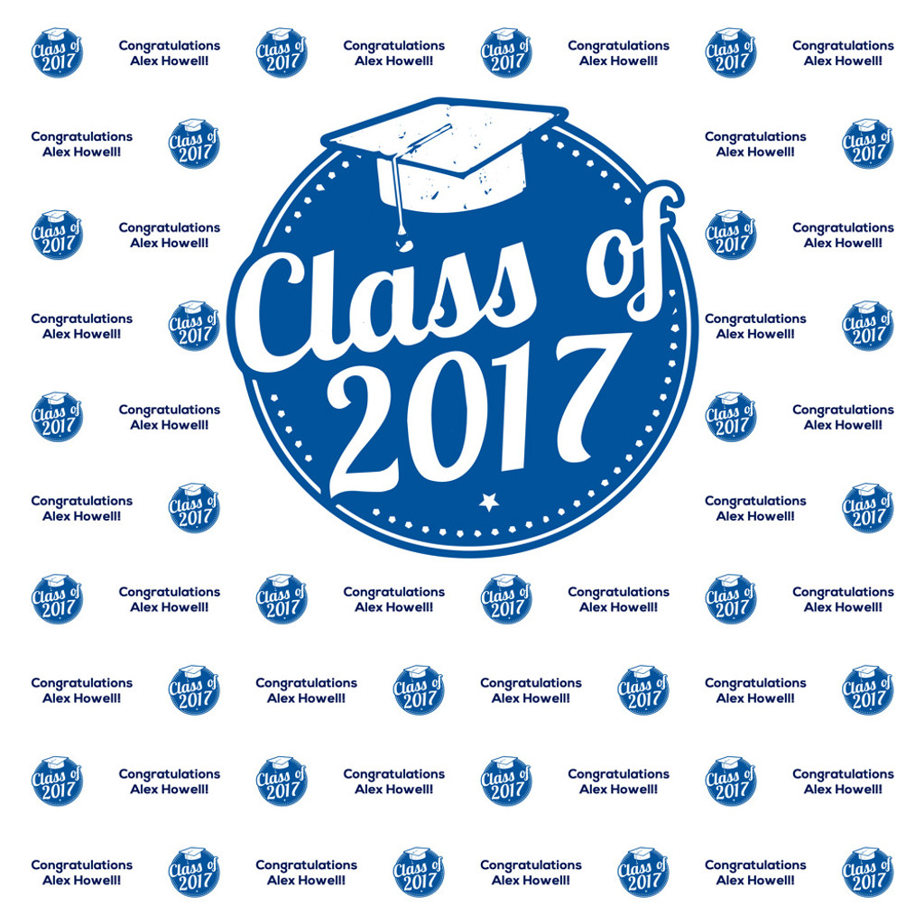 StepandRepeatDepot Graduation Template - Step and repeat template