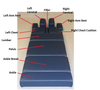 Omni Chiropractic Table Replacement Cover ONLY! No foam or board - Manual Drop Table