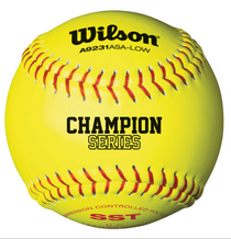 WILSON ASA CHAMPION SERIES SOFTBALL (Dozen)