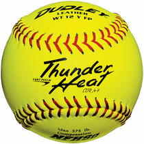 "Dudley Thunder Heat 12"" FP ASA SOFTBALL (DOZEN)"