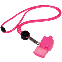Fox 40 Classic Pink Whistle CMG w/Lanyard