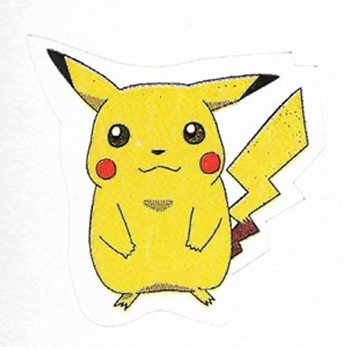 Pokemon small sticker pikachu - Image pikachu ...