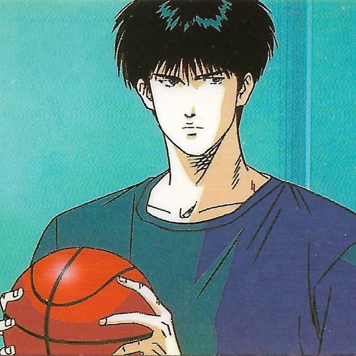 Slam Dunk Rukawa And Sakuragi: Slam Dunk Kaede Rukawa Bookmark Sticker