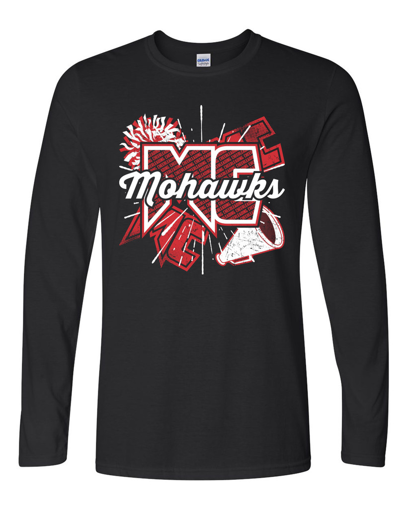 Mohawk Cheer Long Sleeve