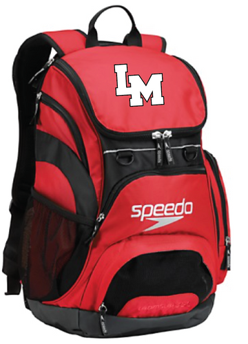 LMHS Speedo Teamster Backpack
