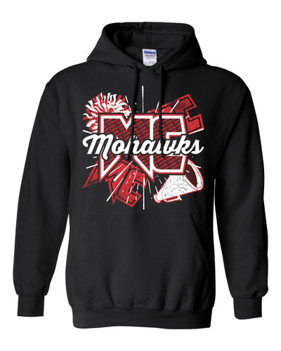 Mohawk Cheer Hooded Sweatshirt