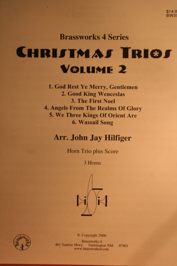Traditional Christmas - Christmas Trios Vol. 2
