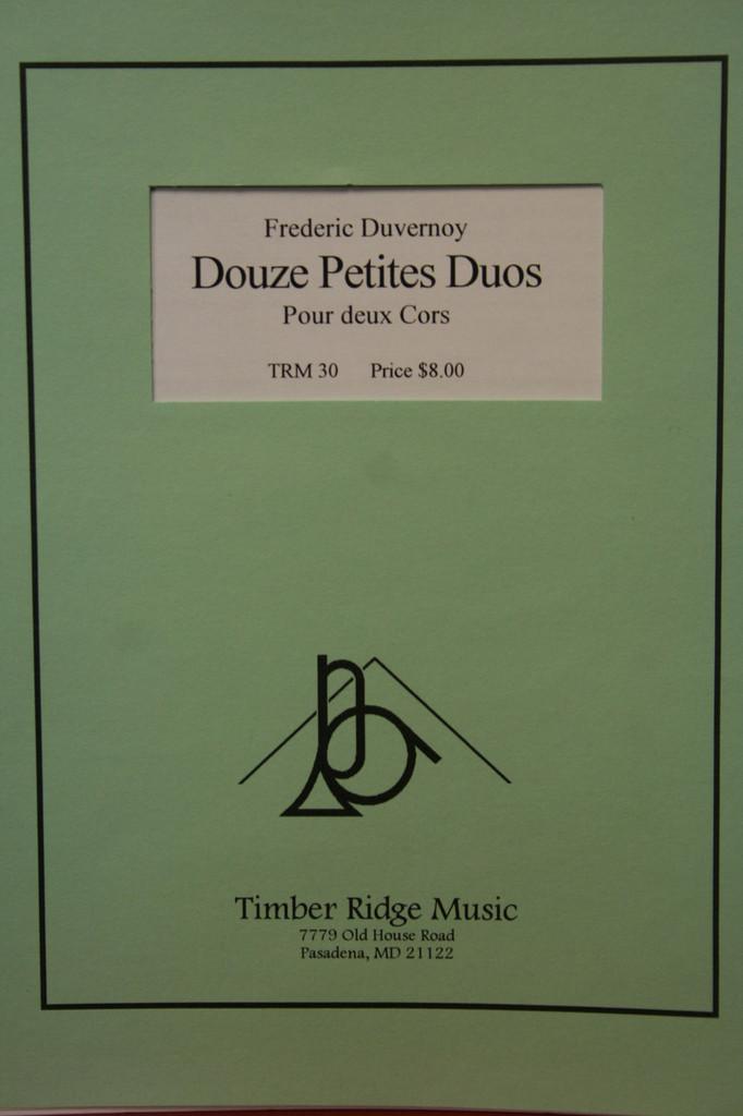Duvernoy, Frederic - Douze Petites Duos pour deux Cors