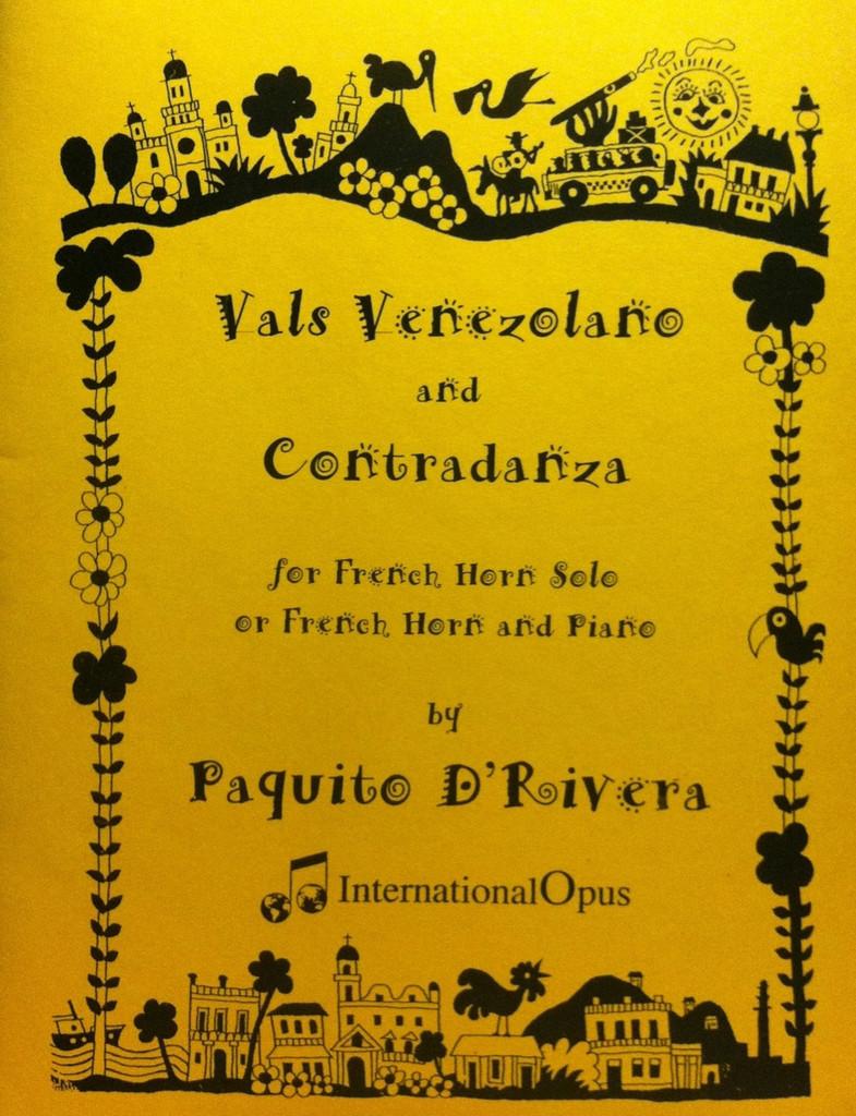 D'Rivera, Paquito - Vals Venezolano and Contradanza (image 1)