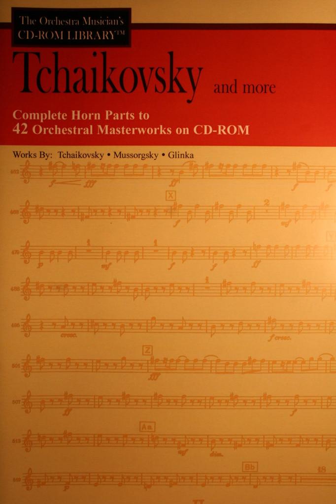 CD-Rom, Vol. 4 - Tchaikovsky