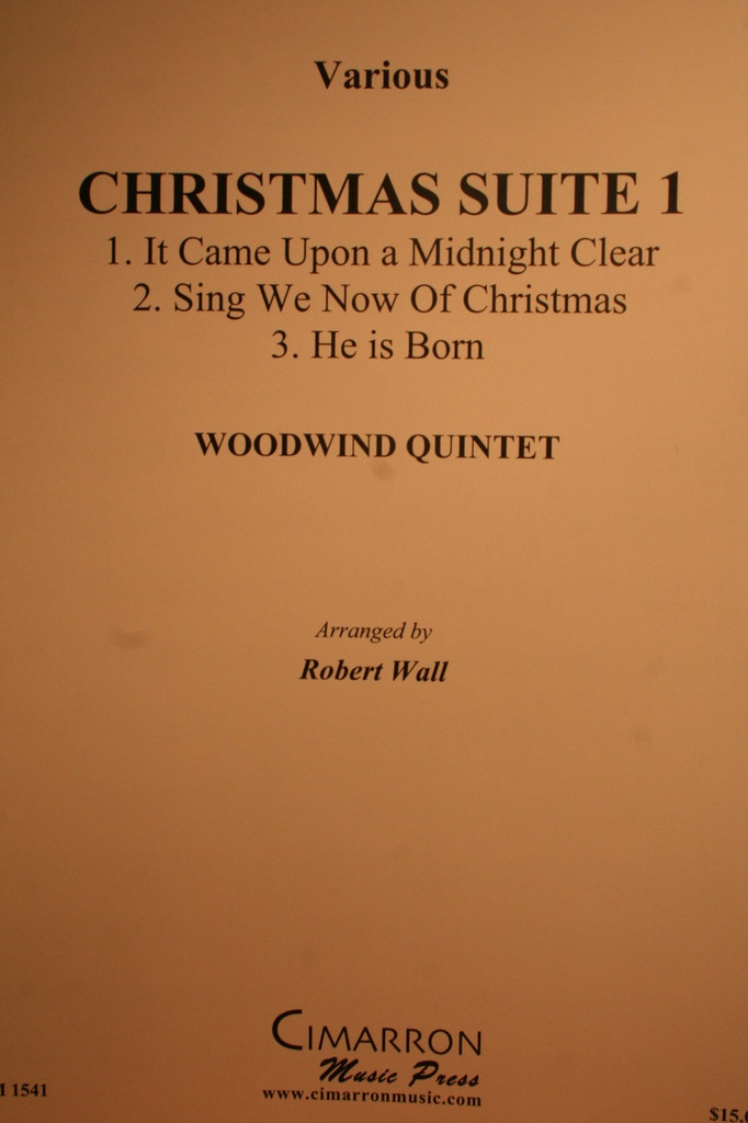 Traditional Christmas - Christmas Suite No. 1 (Woodwind)