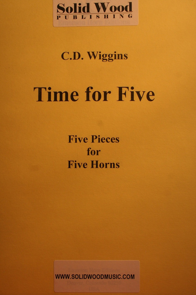 Wiggins, C.D. - Time For Five