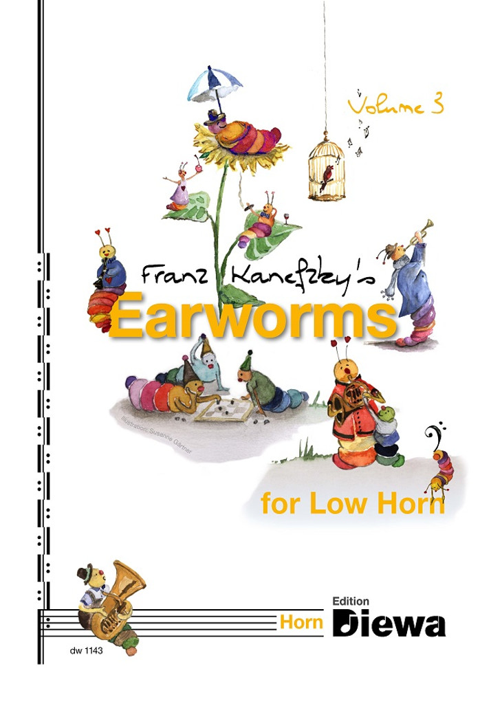 Kanefzky, Franz - Earworms for Low Horn, Volume 3