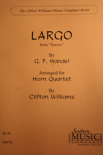"""Handel - Largo from """"Xerxes"""""""