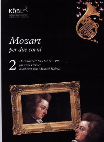 Mozart, W.A - Hornkonzert Es-Dur KV 495 for 2 Horns