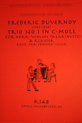 Duvernoy, Frederic - Trio No.1 in C