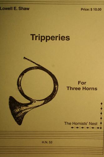 Shaw, Lowell - Tripperies, Vol. 1