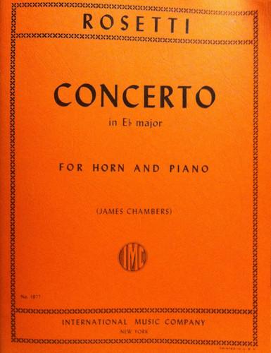Rosetti, Antonio - Concerto in Eb Major