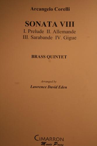 Corelli, Arcangelo - Sonata VIII