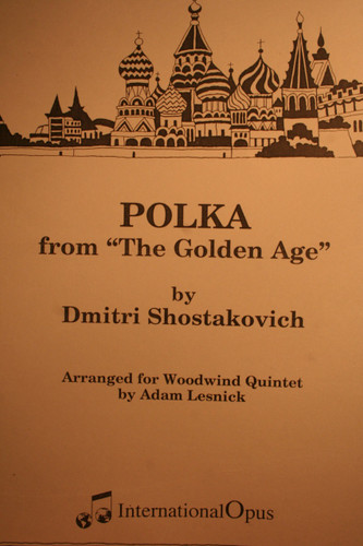 "Shostakovich, Dmitri - Polka (From ""The Golden Age"")"