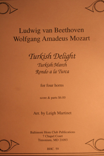 Beethoven/Mozart - Turkish Delight/March & Rondo a la Turca