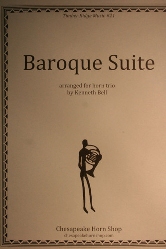 Traditional - Baroque Suite for Horn Trio
