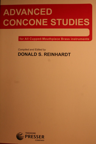 Concone, Giuseppe - Advanced Concone Studies