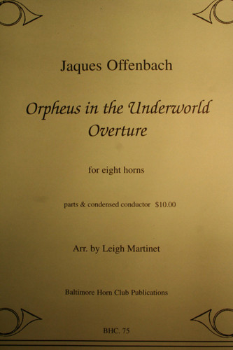 Offenbach, Jaques - Orpheus In The Underworld