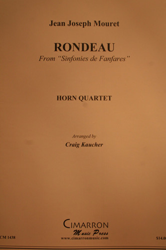 Mouret, Jean Joseph - Rondeau