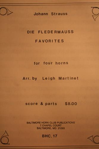 Strauss, Johann - Die Fledermauss Favorites