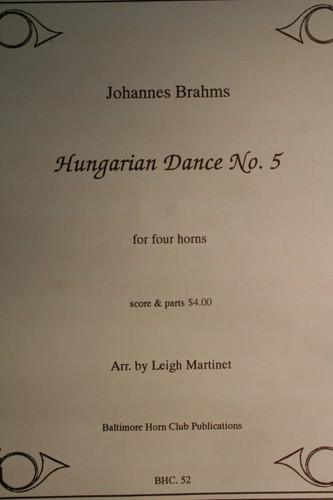 Brahms - Hungarian Dance #5