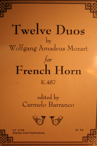 Mozart, W.A. - Twelve Duos For 2 Horns (K.487)