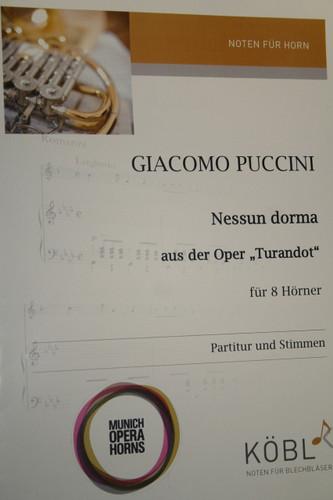 """Puccini, Giacomo - Nessun Dorma Aus Der Oper """"Turandot"""""""